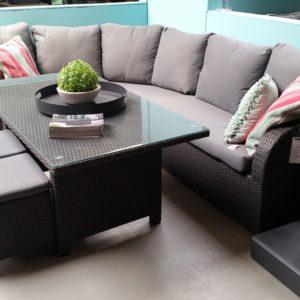 Bandung lounge/dining hoekset