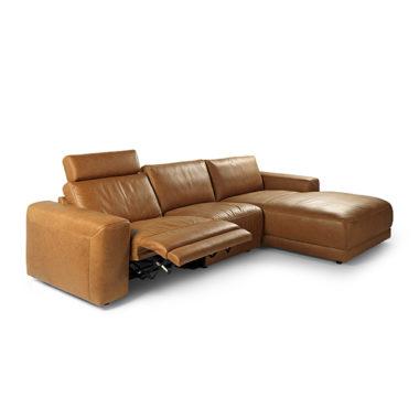 Casone loungebank met relaxtgedeelte