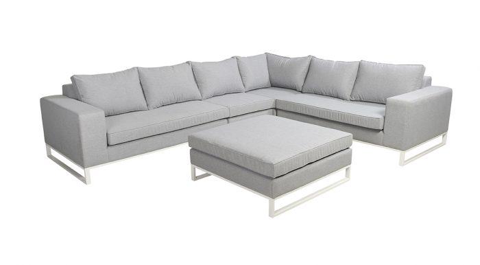 Blizzard hoek loungeset