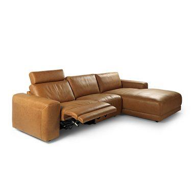 Casone loungebank met relaxgedeelte
