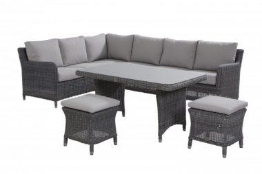 Indigo lounge/dining hoekset