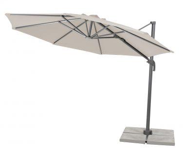 Rhodos vrijhangende parasol rond 300cm