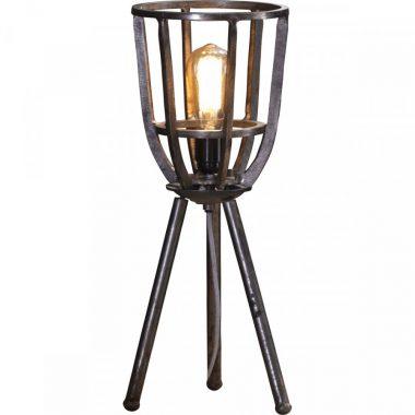 Tripod tafellamp rond 21cm