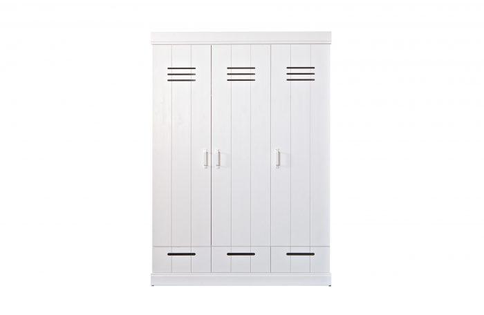 Connect kast 3 deuren 3 laden WOOOD