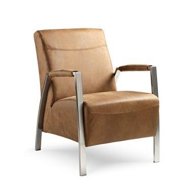 Zanzibar fauteuil rvs frame