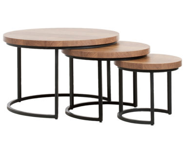 Otte salontafelset