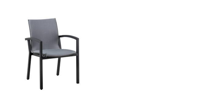 Verona stapelstoel aluminium